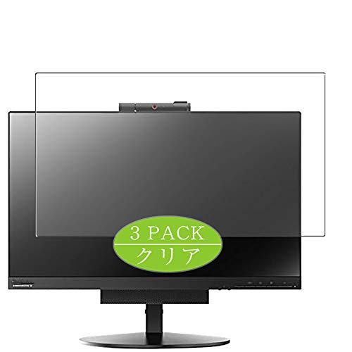Vaxson Protector de pantalla de 3 unidades, compatible con Lenovo TIO 22 Gen 3 10R0PAR1US/10R0PAR1JP 22 pulgadas, protector de película de TPU [no protectores de vidrio templado]