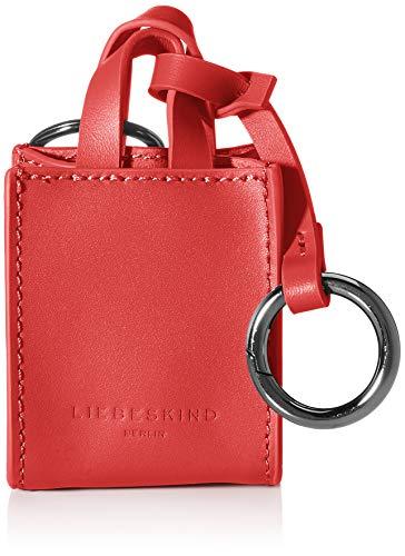 Liebeskind Berlin Damen Paper Bag Keyring Schlüsselanhänger, red Pepper, onesize