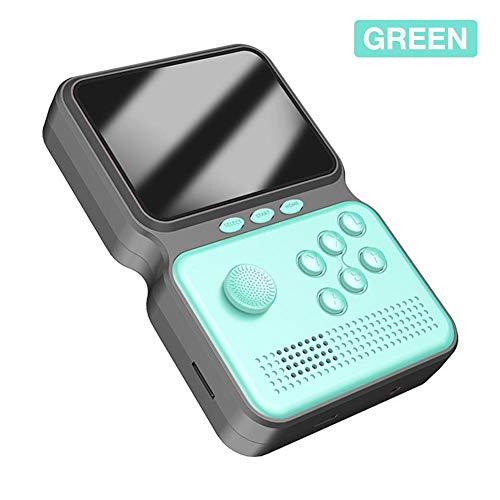 Handheld Retro Game Console, Tragbarer Mini-Game-Player Mit Integrierten Über 900 Klassischen Spielen, 3-Zoll-LCD-Farbbildschirm, Wiederaufladbarer Spielautomat Für Kinder Und Erwachsene (3 Farben)