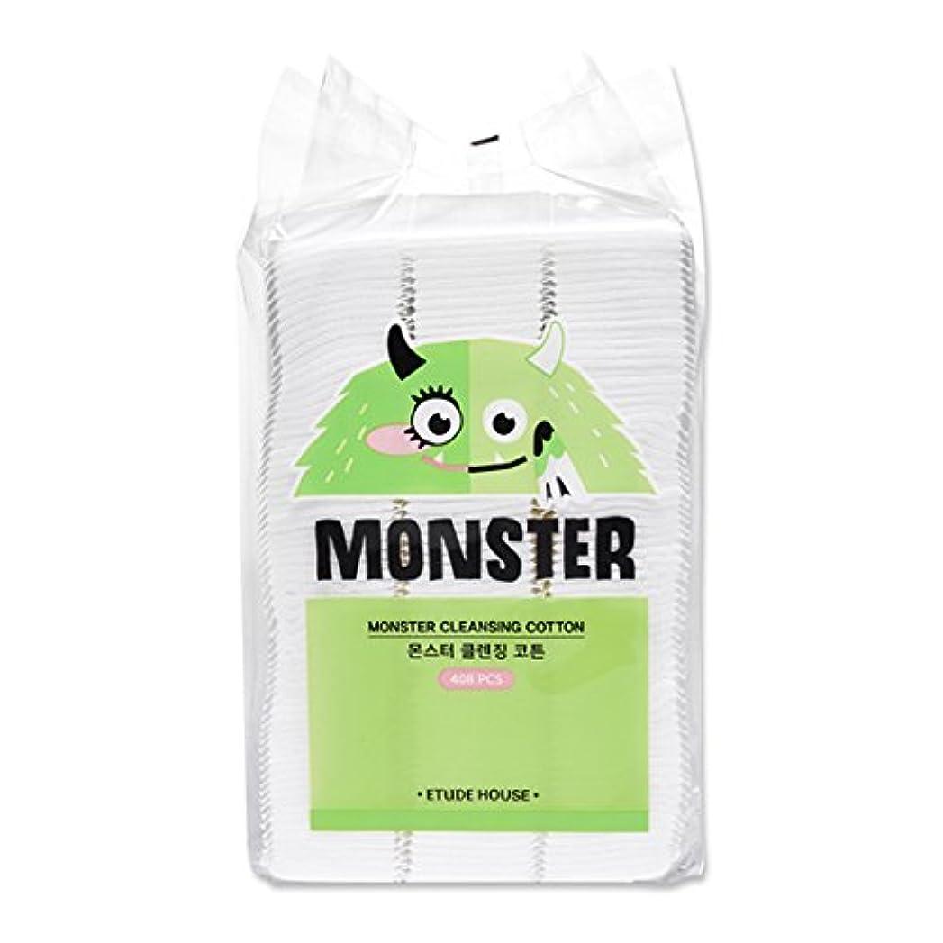 管理しますインタフェース減るETUDE HOUSE Monster Cleansing Cotton / エチュードハウス モンスター クレンジング コットン 408枚 [並行輸入品]