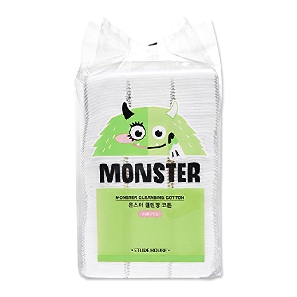 顕著真珠のような変化ETUDE HOUSE Monster Cleansing Cotton / エチュードハウス モンスター クレンジング コットン 408枚 [並行輸入品]