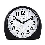 "Best Windup Alarm Clocks - 5.5"" Silent Analog Alarm Clock Non Ticking, Gentle Review"