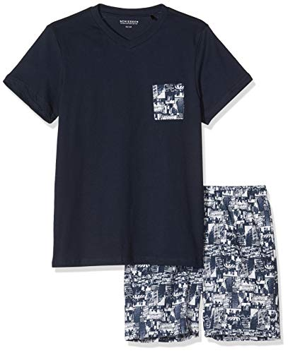 Schiesser Anzug Kurz Pijama para Niños