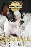 CARNET DE NOTES CHIHUAHUA: carnet de bord de votre animal de compagnie, photo chihuahua, chien, format 15,24 x 22,86 cm, 135 pages, idéal cadeau