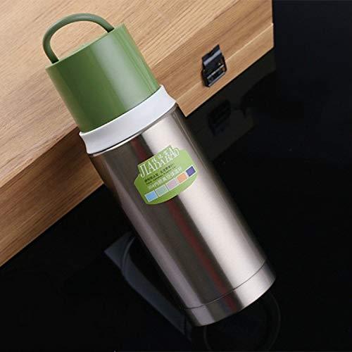 Kapazität: 300-400ml, bewegliche Auto Schüler Child Business Tee Isolierung Stale Edelstahl Isolierflasche QiuGe