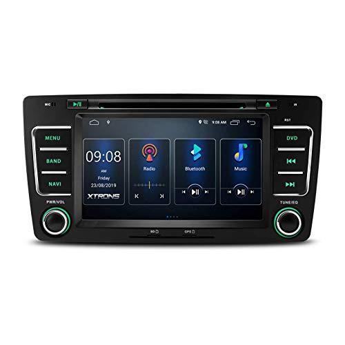 Pantalla IPS de 7 pulgadas Navegación GPS Radio automática Reproductor de DVD Unidad principal incorporada, Estéreo para automóvil Android 10 - en DSP Admite salida RCA completa CarAutoPlay BT5.0 108