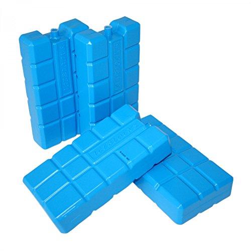 ToCi XXL Kühlakkus mit je 750 ml | Kühlelemente für die Kühltasche oder Kühlbox (4 Stück)