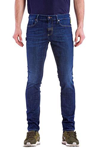 Meltin'Pot Misfits Jeans Skinny, Blu (Denim Blue), 46 (Taglia Produttore:31) Uomo