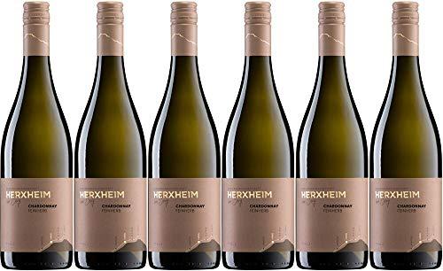 6x Chardonnay feinherb I 2019 - Winzergenossenschaft Herxheim am Berg eG, Pfalz - Weißwein
