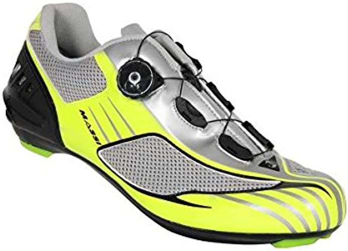 Massi Aria - Chaussures Route Unisexe, Couleur Fluo gris, Taille 44