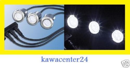 6St. Bodeneinbaustrahler Bodenlampe Aussenbeleuchtung Einbaulicht
