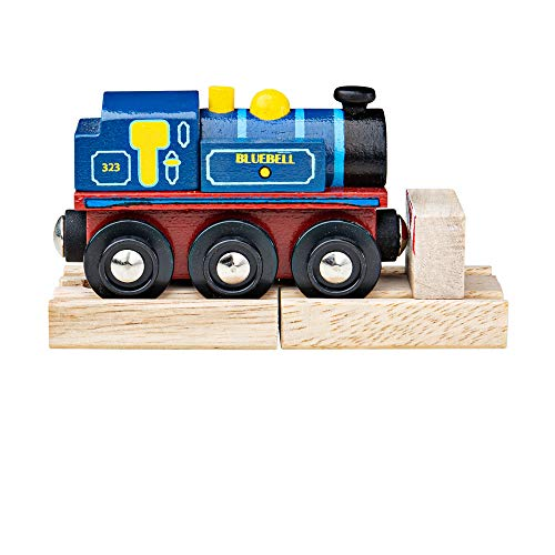 Bigjigs Rail Collection Patrimoine Locomotive Bluebell