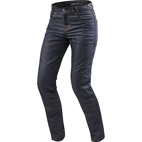 Revit Lombard 2 Motorcycle Jeans Dark - Blue