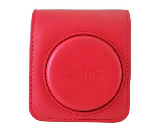 Fujifilm Instax Mini 70 Schutzhülle aus Kunstleder für Kamera Mini 70, Rot