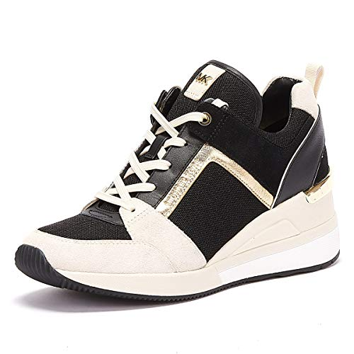 MICHAEL KORS Georgie Trainer Suede 43R9GEFS1S LT CRM Multi Zapatos Mujer Sneaker