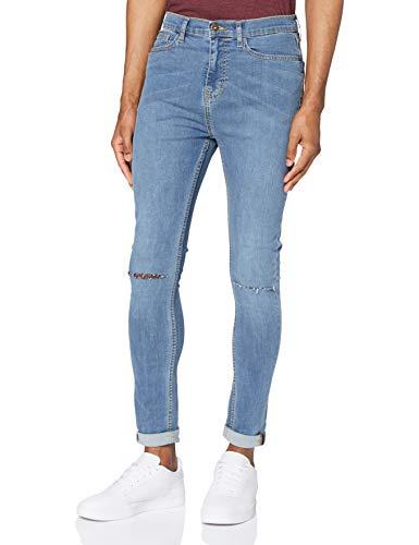 Marchio Amazon - find. Jeans Skinny Uomo, Blu (Vintage Wash), 34W / 34L, Label: 34W / 34L