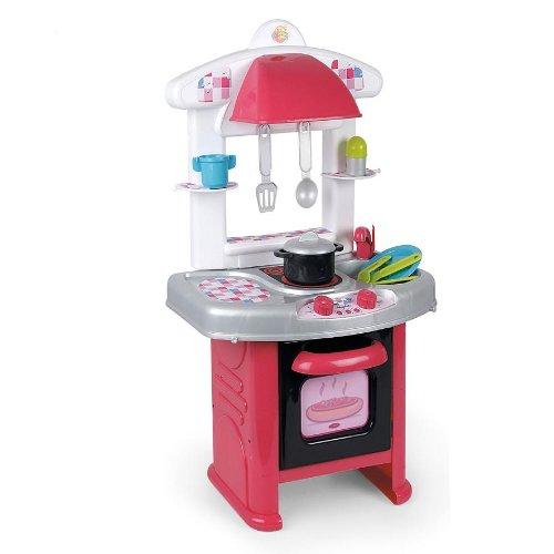Coloma 90544-18 - Cocina con 11 accesorios, color blanco y
