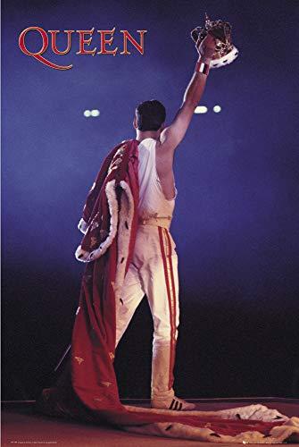 Queen Poster Crown Freddie Mercury