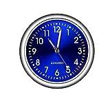 Junecat Automobile Stick-on Digital Montre en métal Horloge Ornements de Voiture Décorations intérieur Type Lumineux