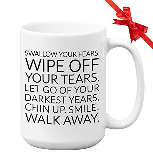 Harry Styles Kaffeetasse, 425 ml, Keramik-Tasse, One Direction, einzigartiges Zitat, Geschenkidee für Sängerin, Schauspielerin, Freund, Regisseure
