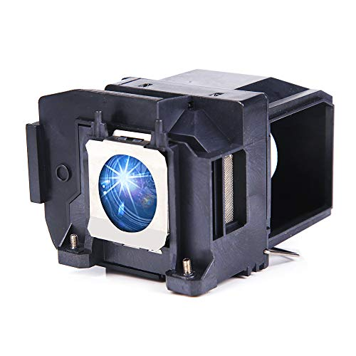 Huaute V13H010L85 Replacement Projector Lamp with Housing for Epson ELPLP85 PowerLite Home Cinema 3500 3100 3000 3600e 3700 3900 Projectors (HYT-ELPLP85)
