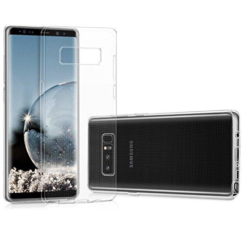 kwmobile Hülle kompatibel mit Samsung Galaxy Note 8 DUOS - Hülle Handy - Handyhülle in Transparent