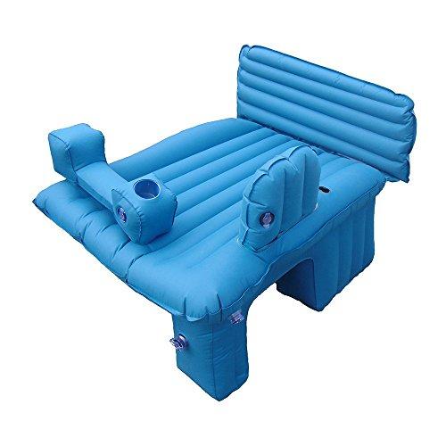 Car bed HUO Kids Camping Bett Reisebett für Kleinkinder Perfektes Schlafen für Übernachtungen (Farbe : Blau)