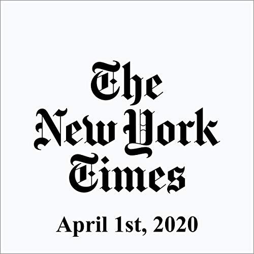 April 1, 2020 audiobook cover art