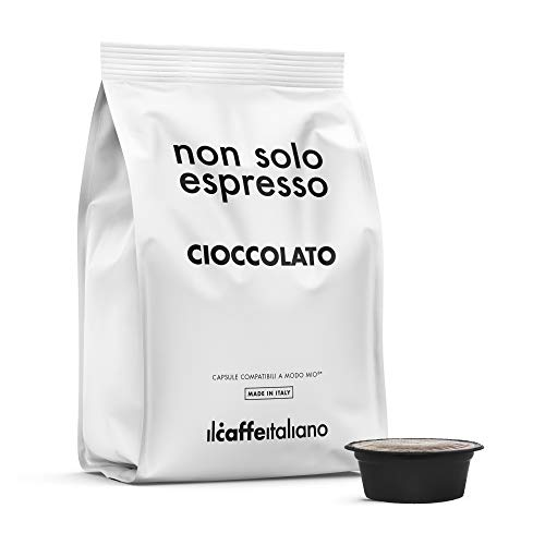 80 Capsules gearomatiseerde chocolade - Compatibel met Lavazza koffiemachines tot A Modo Mio - Il Caffè Italiano