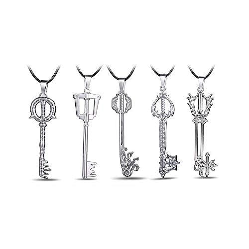 Kingdom Hearts Sora ' S Männer Frauenkette Anime Kingdom Hearts Key Blade Pendant Halskette