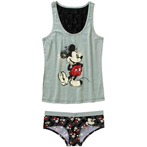 Disney Mickey Mouse Cami and Panty Sleep Set for Women (XXXL)