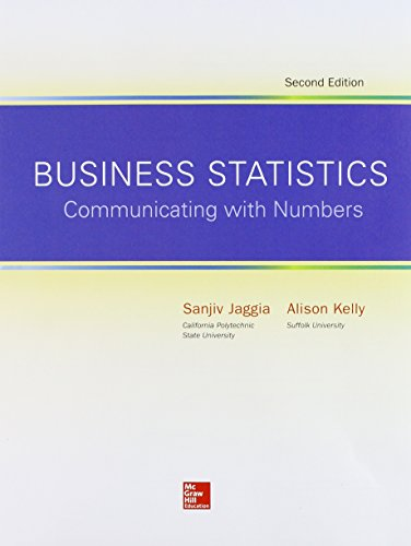 Loose Leaf for Business Statistics: Communicating with Numbers