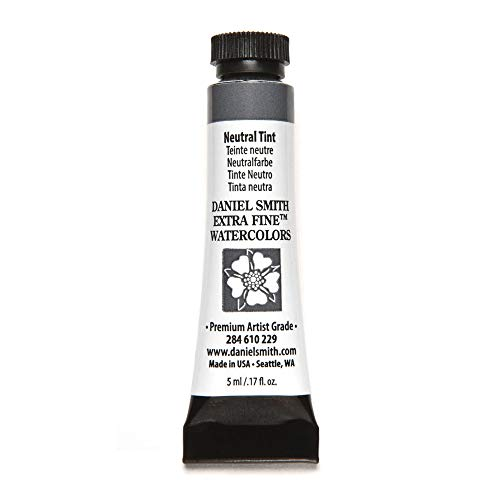 DANIEL SMITH 284610229 Extra Fine Watercolors Tube, 5ml, Neutral Tint