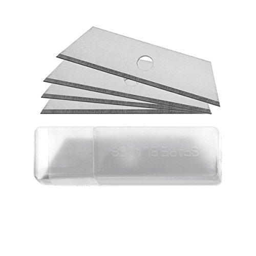 Westcott E-84020 00 Lame di ricambio per cutter di sicurezza E-84009 00, E-84019 00, E-84022 00, E-84023 00, 10 pezzi