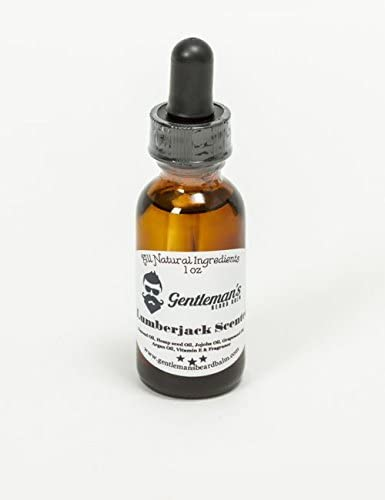 Beard Oil Lumberjack Scented Pine Tree 1oz Handmade with All Natural Ingredients product image