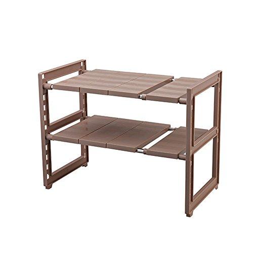 Support de cuisine/Panier de stockage d'évier/Support escamotable/support multifonctionnel (deux styles) (Couleur : B, taille : 47*27.5*40cm)