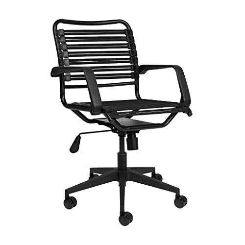Bungee Office Task Chair, with Flat Elastic Bungie Straps,...