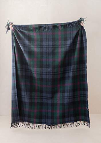 The Tartan Blanket Co. Recycled Wool Blanket Baird Tartan (150cm x 190cm)
