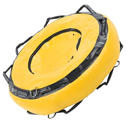 01 Boya de apnea, flotabilidad de Seguridad, boya Flotante Marcador de señal Flotador de Buceo para señalización de Superficie Deportes acuáticos Buceo(Yellow)