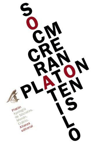 Apología de Sócrates / Menón / Crátilo (El libro de bolsillo - Clásicos de Grecia y Roma)