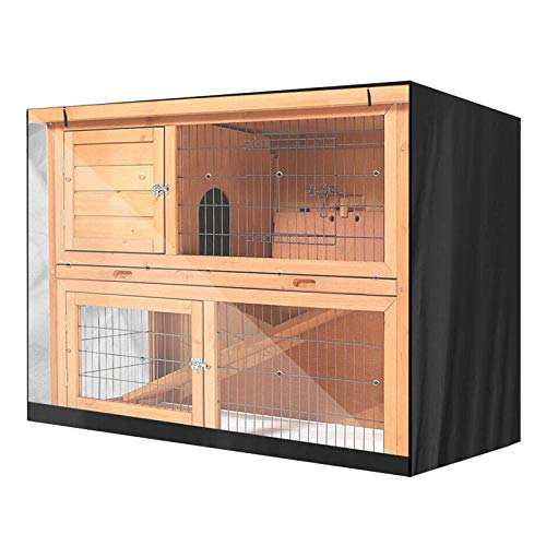 WMSD Cubierta de la conejera del Conejo de Tela Oxford Cubierta de Polvo de la Jaula del Conejo de Doble Capa Cubierta Protectora Impermeable de la casa de Mascotas Cubierta de Muebles