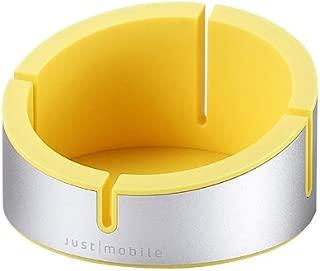 【日本正規代理店品】Just Mobile AluCup Grande イエロー JTM-ST-000018