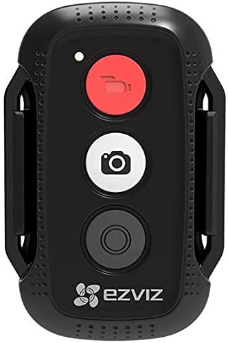 Ezviz K4 Telecomando per Videocamere d'Azione EZVIZ, Controllo Remoto Impermeabile, IP66, Connessioni Multiple con Videocamere d'Azione EZVIZ S1C, S5, S5 Plus, S2 Lite