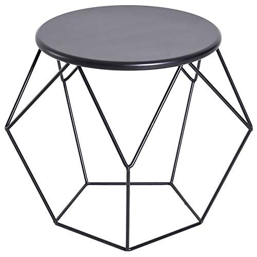 HOMCOM Coffee Table Side Table End Table Home Living Room Bed Room Furniture Modern Nordic Minimalist Style