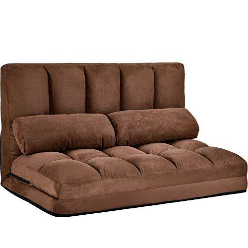 T-ara Suave y Confortable Duradero, sin Dejar de Fumar, Moda, Estilo avanzado, sofá de sofá Cama de Doble chaiseo y sofá de la habitación sobreviviente con Dos Almohadas diseño de Moda