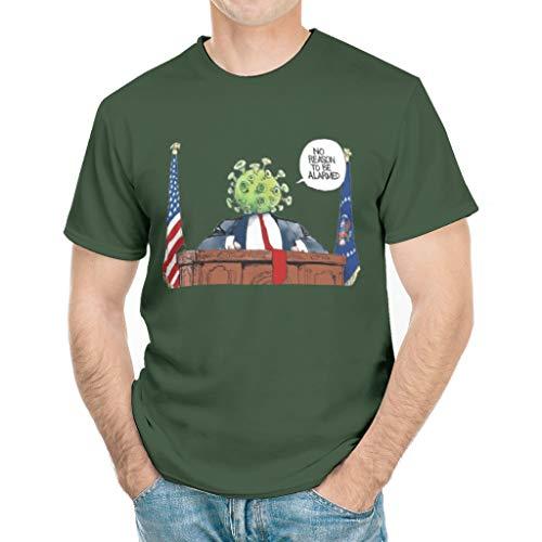 NorthFront Funny Coronavirus T Shirt, Sarcastic President 2020 Shirt for Men Women white5 x-Large Green