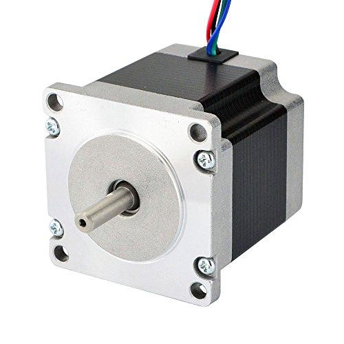 STEPPERONLINE Nema 23 Motor paso a paso Bipolar 1.8 deg 1.16 Nm 1.5 A 57 x 56 mm motor de paso a paso 4 hilos para impresora 3D, fresadora CNC