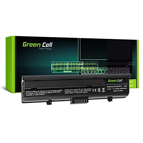 Green Cell PU556 WR050 Laptop Akku für Dell XPS M1330 M1350 und Dell Inspiron 1318 (6 Zellen 4400mAh 11.1V Schwarz)