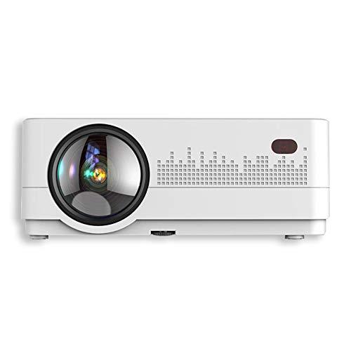 TAIQIXI Projector Home Hd 1080p Smart Wifi Home Theater Mini Portable Projector(A)