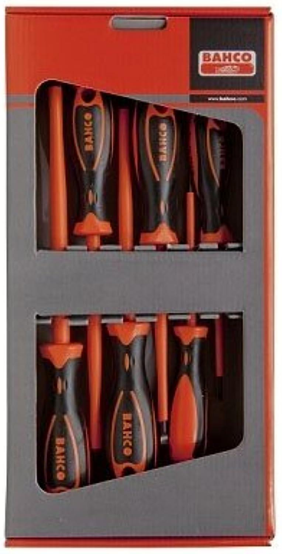 Bahco 824 Vde - 1000 V 6 Schraubendreher-Set (6-teilig) B00TSZ1JXU | Geeignet für Farbe